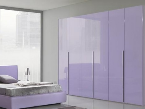 Dormitor violet