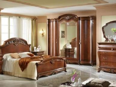 Model de dormitor luminos cu scafa italian style