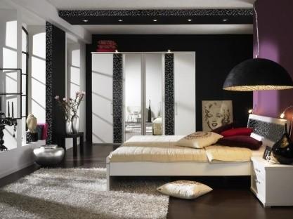 amenajari interioare dormitor cu scafa de rigips