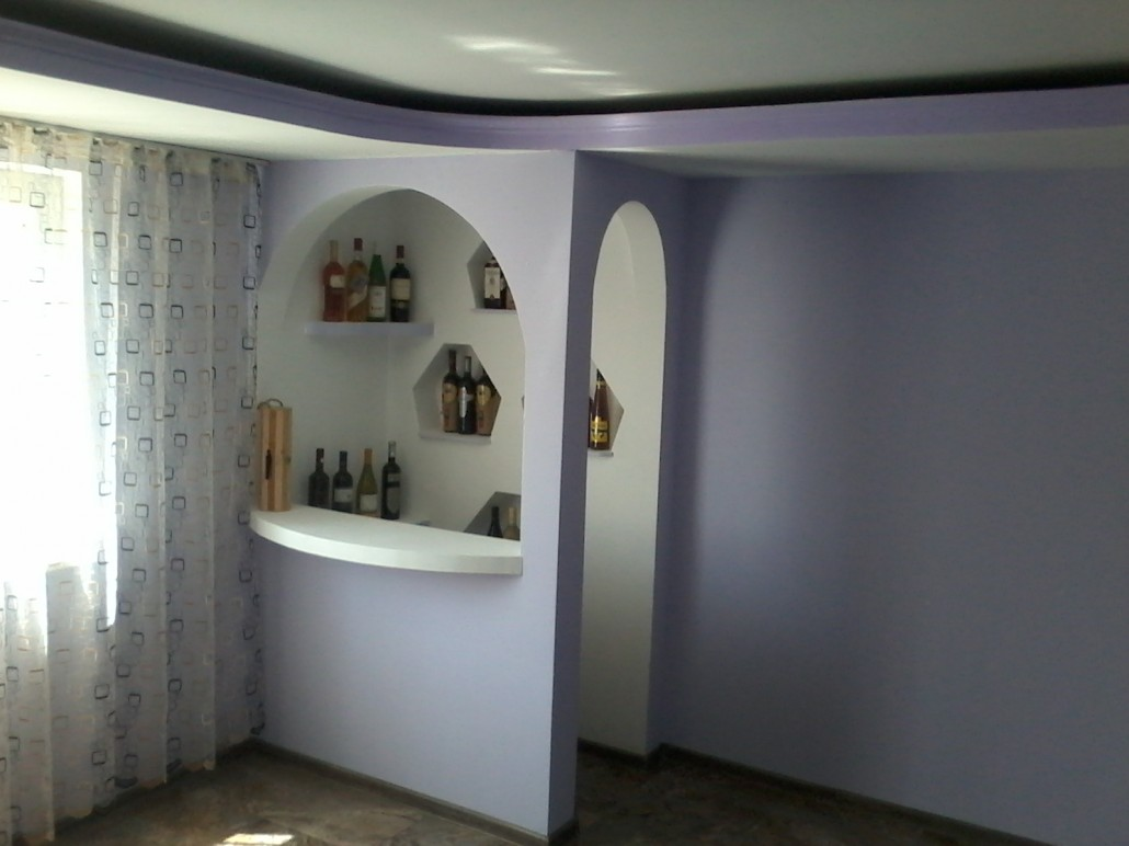 bar in living