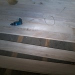 Pardoseala din scanduri de lemn