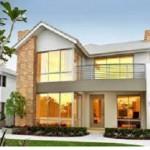 moderna fatada casa