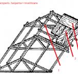 schita componente acoperis
