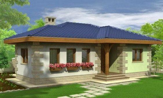 casa construita la pret mic