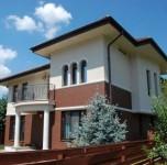 model casa cu fatada etaj